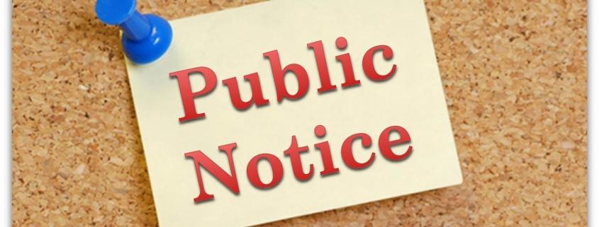 Public Notice Image